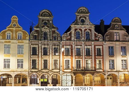 Grand Place In Arras