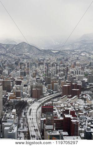 Sapporo City In Japan