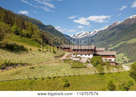 Mountain Farm In South Tyrol