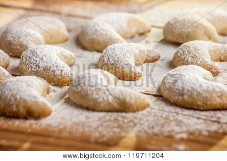 Christmas Cookies With Vanilla