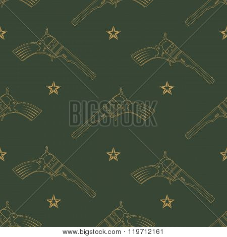 Vector Pattern With Revolvers