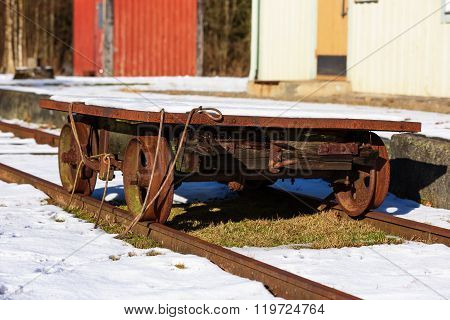 Rusty Railway Cart