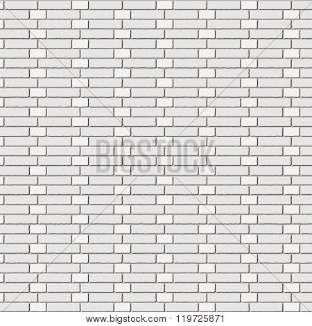The vector brick wall - stretcher bond