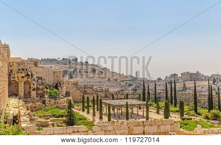 Solomon's temple remains Jerusalem
