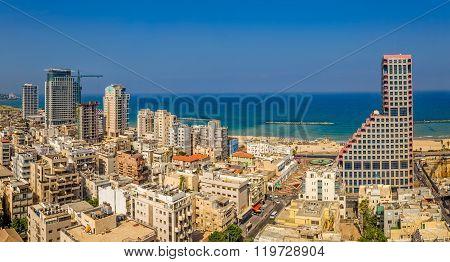 Tel Aviv aerial view