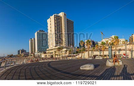 Tel Aviv riviera and hotels