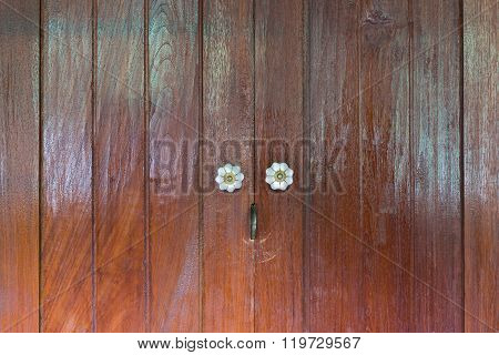 Thai Wooden Door