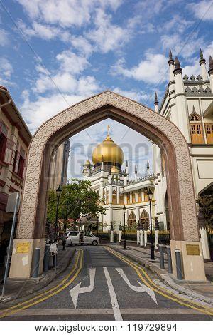 Landmark Sultan Mosque