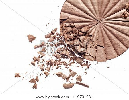 Make up crushed powder