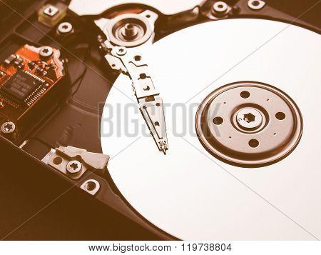 Hard Disk Vintage