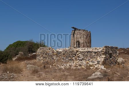 Greece windmill