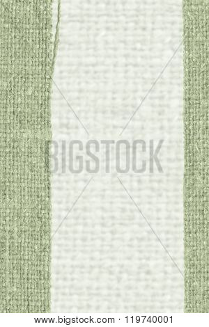 Textile Weft, Fabric String, Emerald Canvas, Obsolete Material, Empty Background