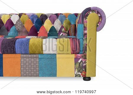Sofa Chesterfield With Style A Patchwork