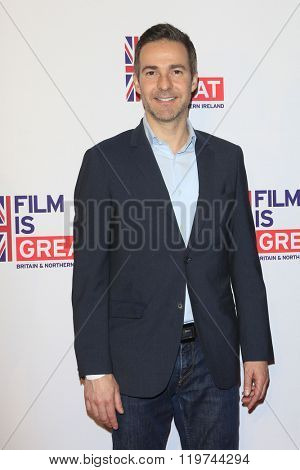 LOS ANGELES - FEB 26:  David Ebershoff at the The Film is GREAT Reception Honoring British 2016 Oscar Nominees at the Fig and Olive on February 26, 2016 in West Hollywood, CA