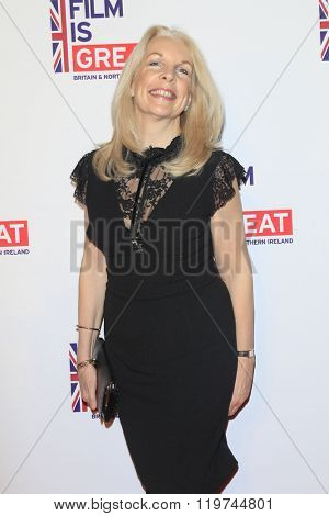 LOS ANGELES - FEB 26:  Amanda Nevill at the The Film is GREAT Reception Honoring British 2016 Oscar Nominees at the Fig and Olive on February 26, 2016 in West Hollywood, CA