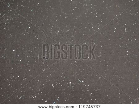 Black Paper Background Covered With Dust