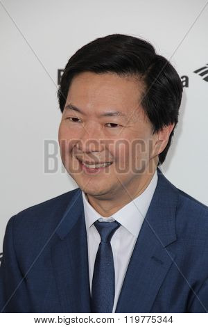 LOS ANGELES - FEB 27:  Ken Jeong at the 2016 Film Independent Spirit Awards at the Santa Monica Beach on February 27, 2016 in Santa Monica, CA