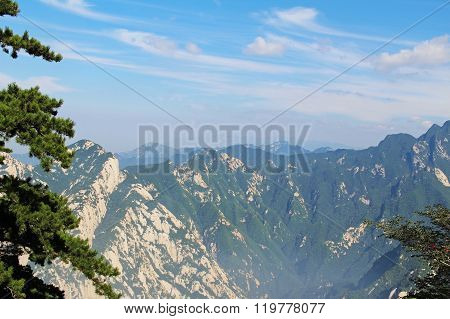 Huashan Mountain, Xian, China