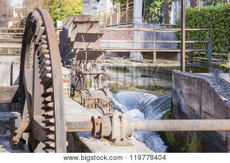 Water Mills Wheel