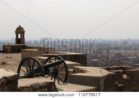 Views Across Cairo From The Citadel. Cairo. Egipt.