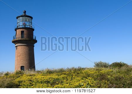 Brick Lighthouse on Martha's Vineyard
