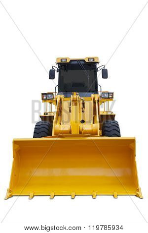 Scoop Of Modern Bulldozer