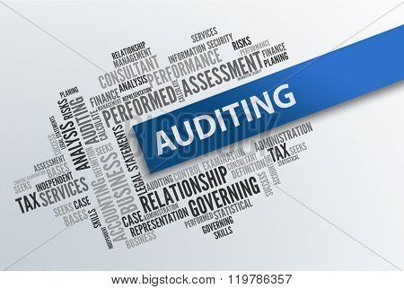 AUDITING | Business Abstract Concept