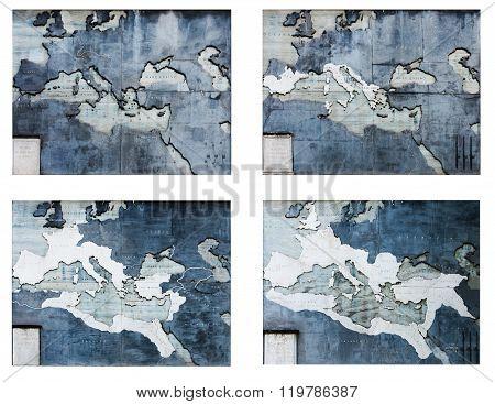 The Roma Empire Maps