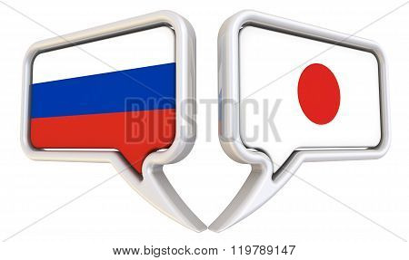 The dialog between the Russian Federation and Japan