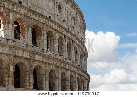Detailed Colosseum View