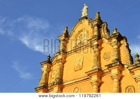 Iglesia La Recoleccion Is One Of The Main Cultural Attractions Of Leon, Nicaragua