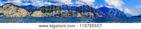 Lake Garda (Lago di Garda) Italy, panorama