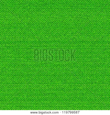 Green cloth background