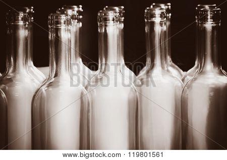 Empty Bottle Row