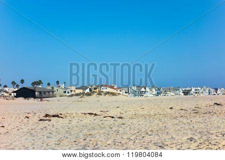 Oxnard As Seen From Mandalay Beach, California
