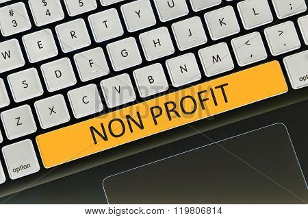 Keyboard Space Bar Button Written Word Non Profit
