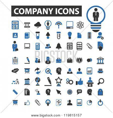 company icons, company logo, company vector, company flat illustration concept, company infographics, company symbols,