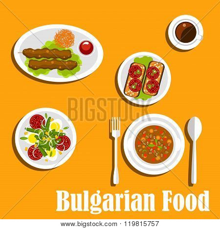 Bulgarian cuisine nutritious dinner dishes