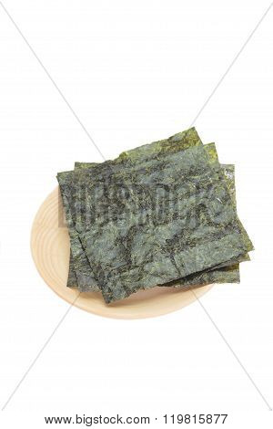 Nori , Japanese edible seaweed