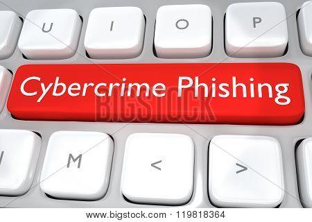 Cybercrime Phishing Concept