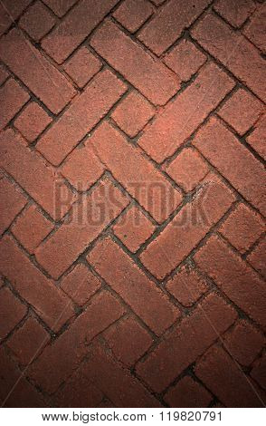 Cobblestone Pavement Abstract Background Texture Old Street