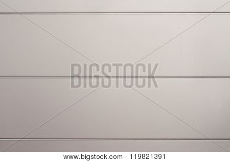 Gray Metal Panels For Cladding The Exterior Walls