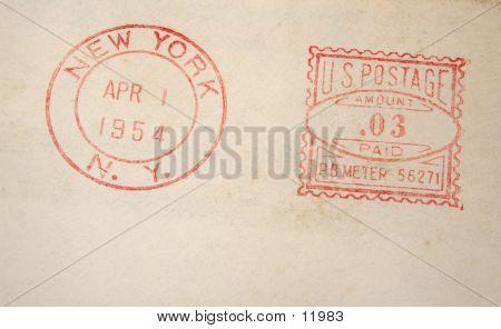 1954 Postage