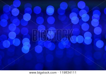 Blurred Lights On Blue And Purple Background