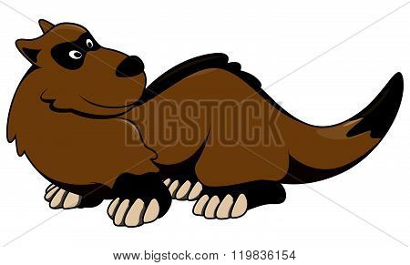 weasel cartoon illustration