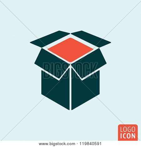 Box icon isolated