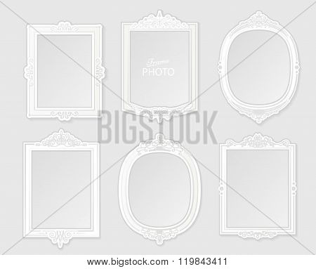 Patterned Photo Frame