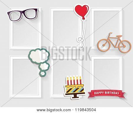 Photo frames concept