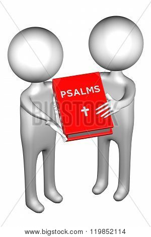 3D People With Psalms