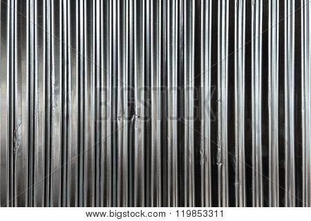 Galvanized Sheet - Corrugated Surface Metal Texture